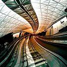 Airport nightmare by Robert Dettman