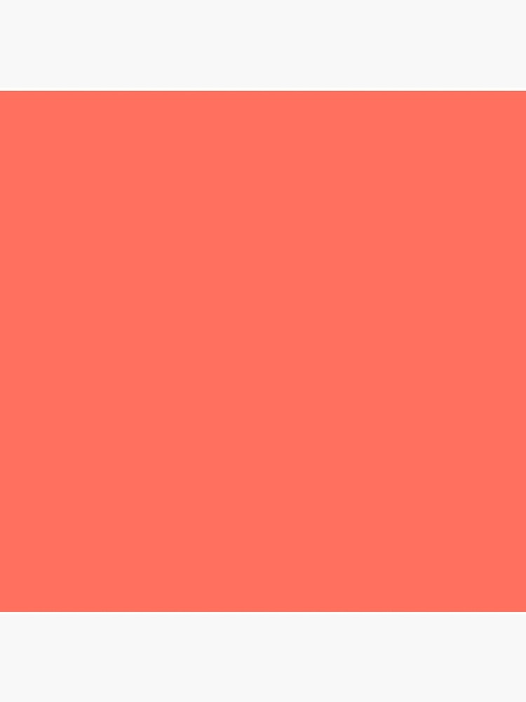 Living Coral 16-1546 TCX | Pantone Color of the Year 2019 | Pantone | Color Trends | New York and London | Solid Color | Fashion Colors |  by EclecticAtHeART