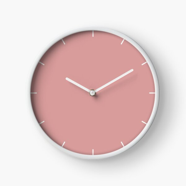 Pressed Rose 15-1619 TCX   Pantone   Color Trends   London   Spring Summer 2019   Solid Color   Fashion Colors   Clock