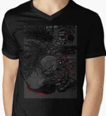 d e u n d e n v 2 T-Shirt mit V-Ausschnitt für Männer