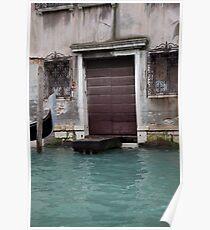 Venetian Doorstep Poster