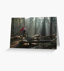 Misty rider Greeting Card