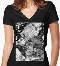 2 0 1 9 Silvester v.2 Shirt mit V-Ausschnitt