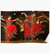 Contemporary Indian Classical Dance-4-Mamata Shankar Ballet Troupe  Poster