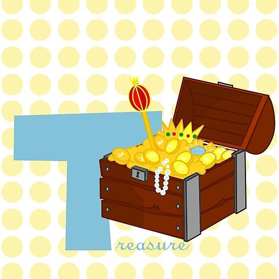 t for treasure by alapapaju