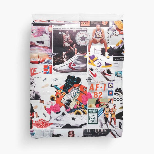 Shoes Sports Collage Duvet Cover