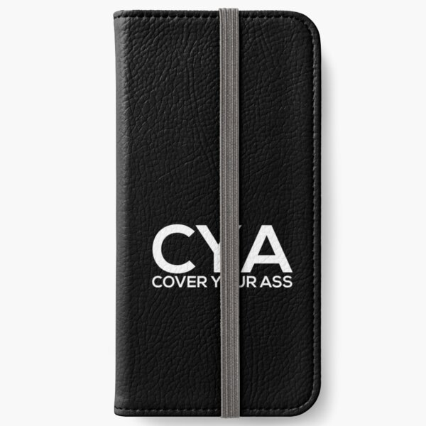 Cover Your Ass iPhone Wallet