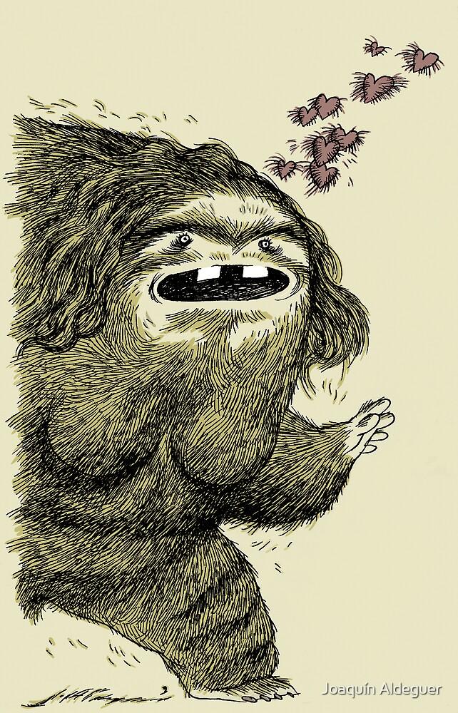 Hairy she-monster by Joaquín Aldeguer