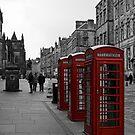 Telephone Boxes by Lynne Morris