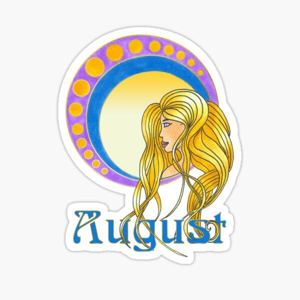 Lady August Sticker