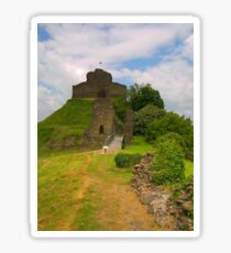 Launceston Castle Sticker