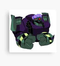 Lugnut from Transformers animated Canvas Print