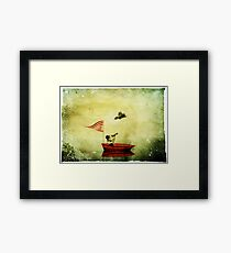 Brendan and the Raven - The Early Years Framed Print