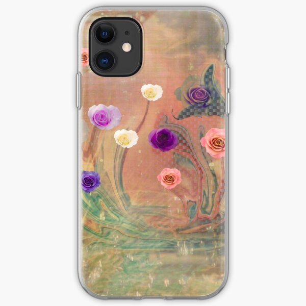 Meditation, Heal The World with Art Love Kindness iPhone Soft Case