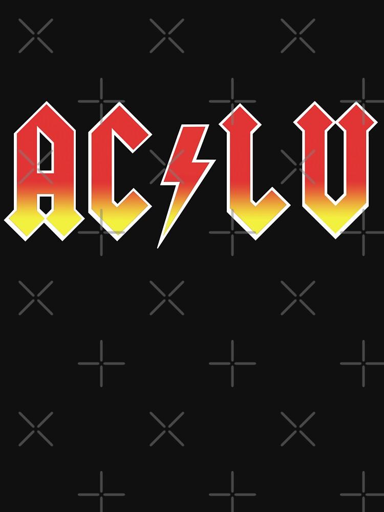 AC-LU ( Aclu / DC ) by BartsGeekGifts