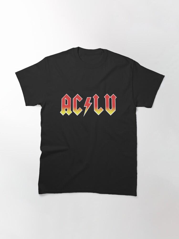 Alternate view of AC-LU ( Aclu / DC ) Classic T-Shirt