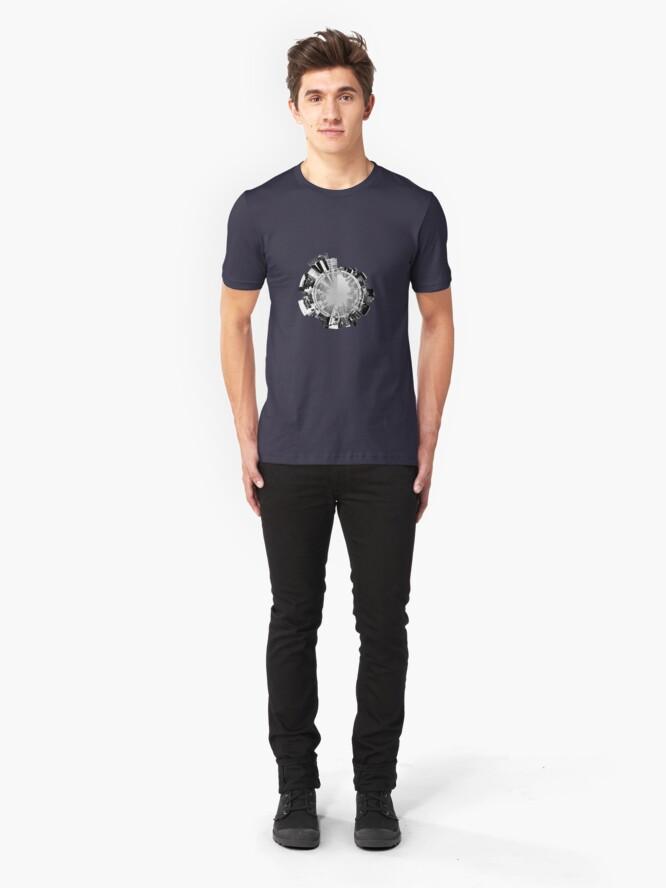 Alternate view of Manhattan 360. Slim Fit T-Shirt