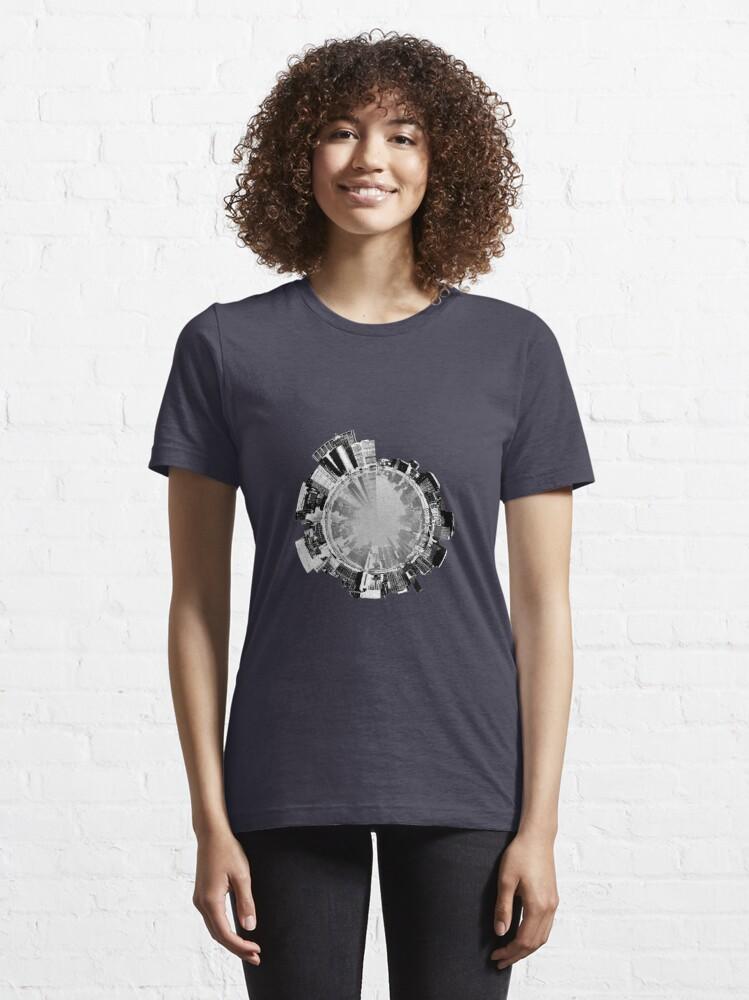 Alternate view of Manhattan 360. Essential T-Shirt