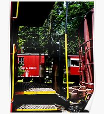 Morristown & Erie Caboose Poster