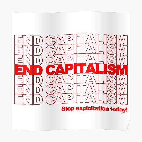 Capitalismo del fin Póster