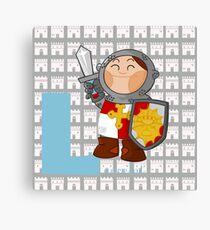l for lancelot Canvas Print