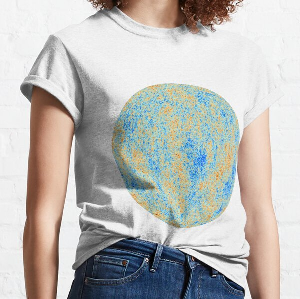 The Cosmic Microwave Background (CMB, CMBR) #Cosmic #Microwave #Background #CMB CMBR Classic T-Shirt