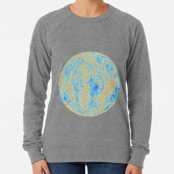 The Cosmic Microwave Background (CMB, CMBR) #Cosmic #Microwave #Background #CMB CMBR Lightweight Sweatshirt