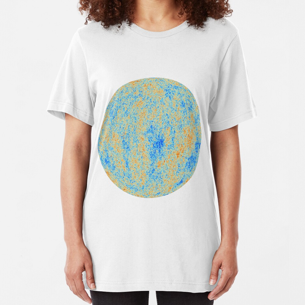 The Cosmic Microwave Background (CMB, CMBR) #Cosmic #Microwave #Background #CMB CMBR Slim Fit T-Shirt