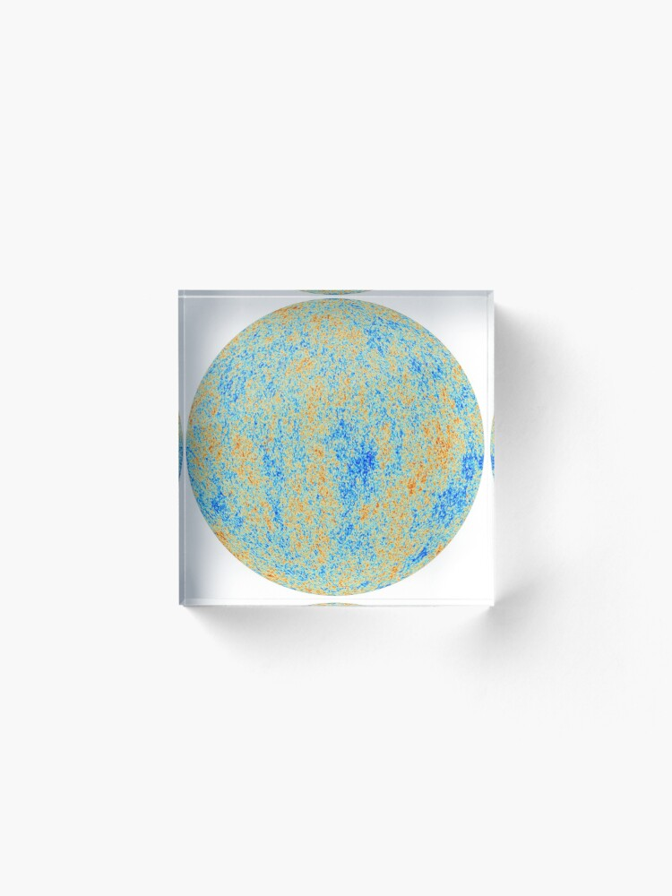 Alternate view of The Cosmic Microwave Background (CMB, CMBR) #Cosmic #Microwave #Background #CMB CMBR Acrylic Block