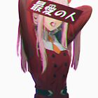 DARLING IN THE FRANXX (GLITCH) - SAD JAPANESE ANIME AESTHETIC by PoserBoy