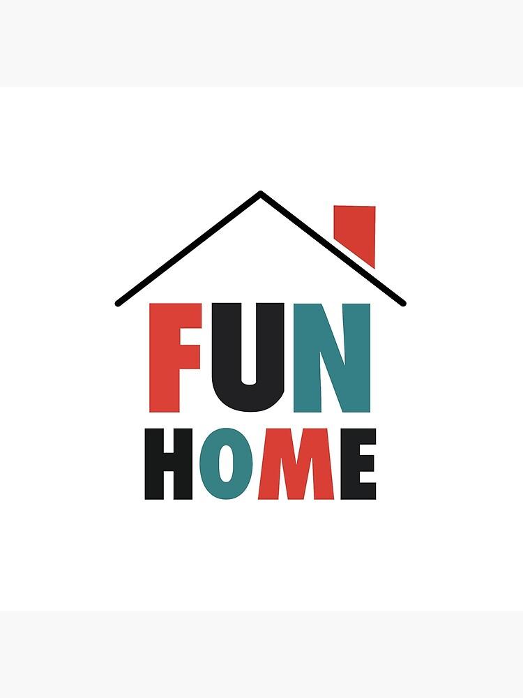 Fun Home: Logo de broadway-island