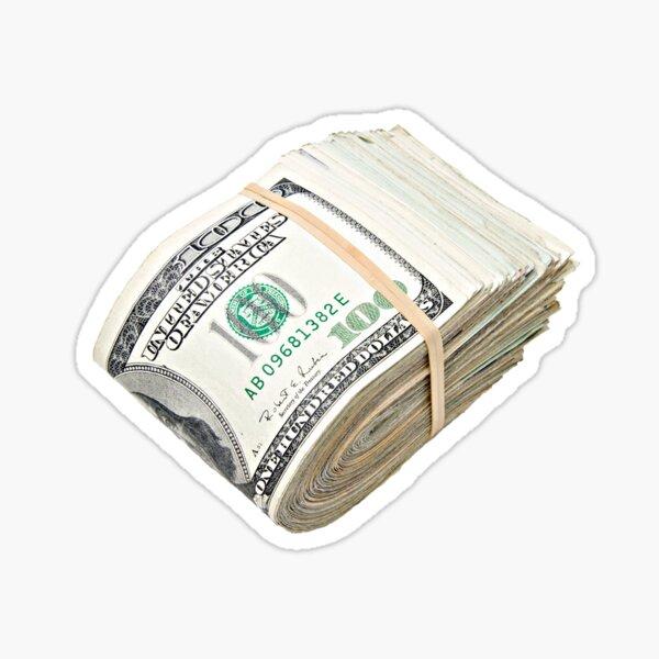 Une pile d'argent Sticker