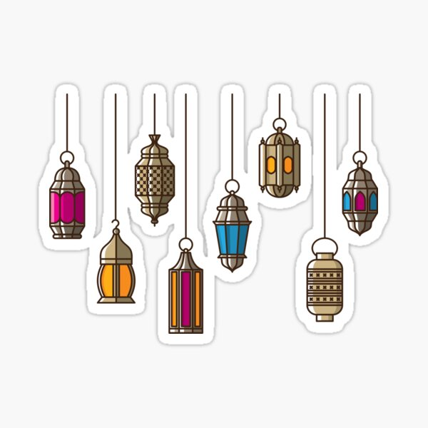 Ramadan Nights  Sticker