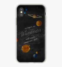 Wanderers - Carl Sagan Kreide Art iPhone-Hülle & Cover