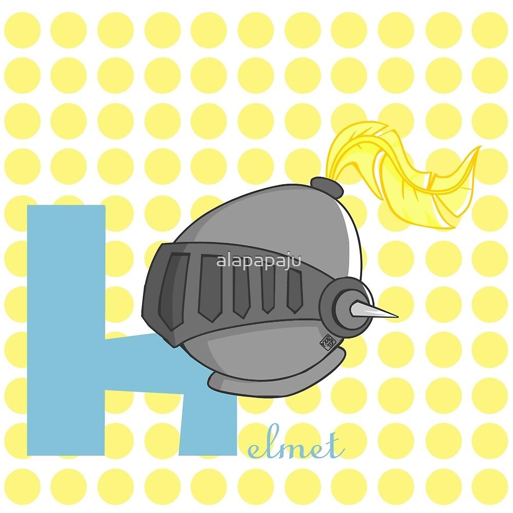 h for helmet by alapapaju