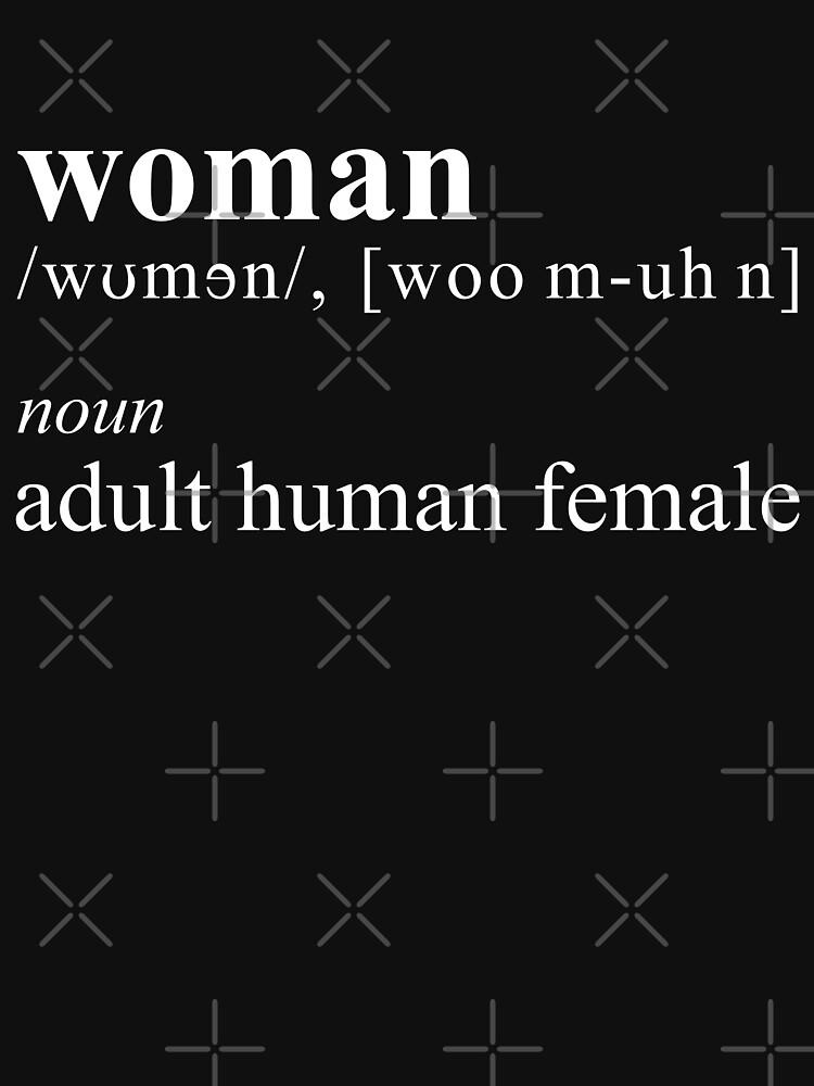 Woman — Adult Human Female by boxsmash