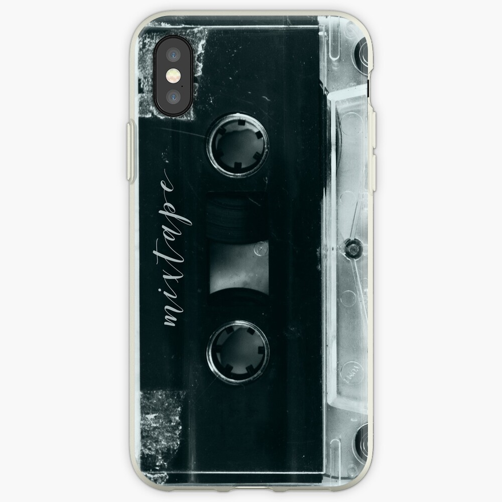 Mixtape metal iPhone Case & Cover