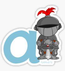 A for armor Sticker
