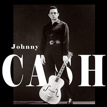 Johnny Cash Der Mann in Schwarz von thatyoungyork