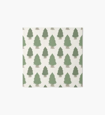 Cut your own Christmas tree (Patterns Please) Art Board Print