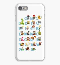 ABC medieval (english) iPhone Case/Skin