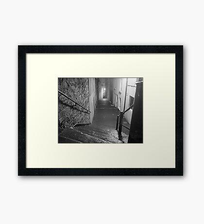 Night On The Northside Framed Print
