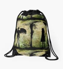 The Owl and The Pussycat Drawstring Bag