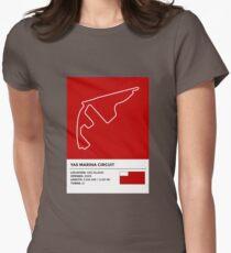 Yas Marina Circuit - v2 Women's Fitted T-Shirt