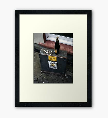 There's No Talking To Some People Framed Print