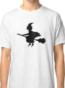 Witch on a Broomstick Classic T-Shirt
