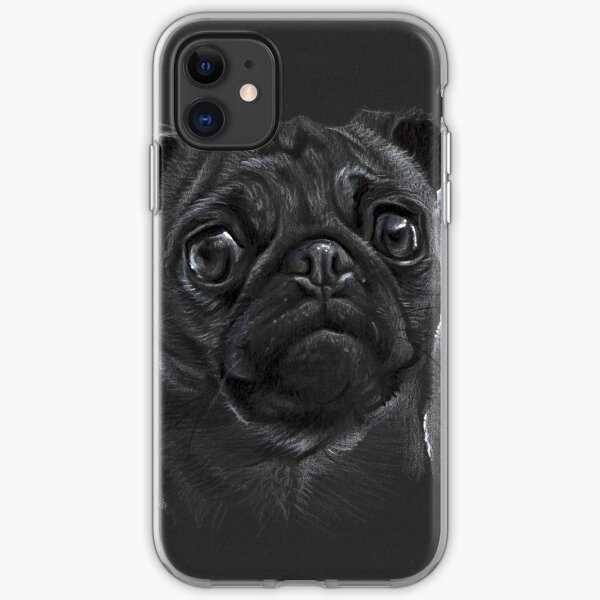 Pug iPhone Soft Case