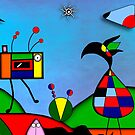 My Homage To Miro - The Raven King and I by Rookwood Studio ©