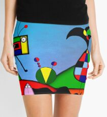 My Homage To Miro - The Raven King and I Mini Skirt