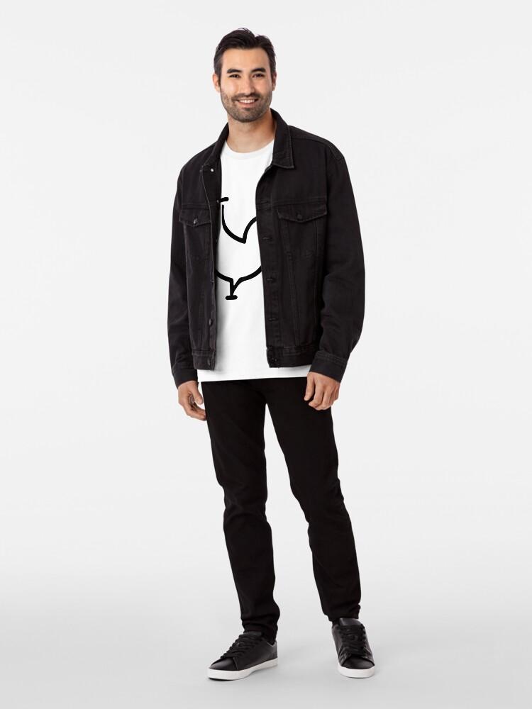 Alternative Ansicht von Schwanz Premium T-Shirt